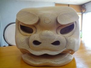 獅子 木型