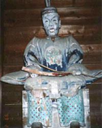 復元前の随神像