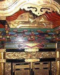 復元前の神輿